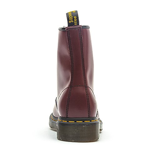 1460 Dr Smooth Martens Unisex Stivali Adulto Rosso qRR5x7n