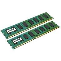 Crucial 16GB Kit DDR3 1600 MT/s (PC3-12800) CL11 Non-ECC, UDIMM 240-Pin Desktop Memory CT2KIT102464BA160B/CT2CP102464BA160B