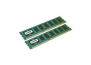 Crucial 16GB Kit DDR3 1600 MT/s (PC3-12800) CL11 Non-ECC, UDIMM 240-Pin Desktop Memory CT2KIT102464BA160B/ CT2CP102464BA160B