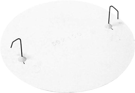 BeMatik - Tapa de Caja de Registro Redonda para Caja de diámetro 80mm: Amazon.es: Electrónica