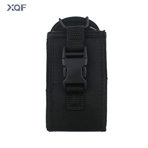 - HATCHMATIC Two Way Radio Pouch Bag Holster Case for Icom Motorola Kenwood Yaesu Midland Baofeng Walkie Talkie (Big Size)