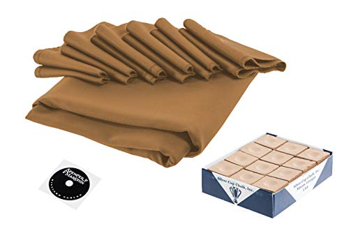 (Spencer Marston Simonis 860 Pool Table Cloth Set 8 ft, Camel)