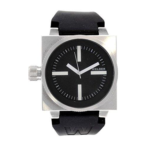 Coffret reloj Welder hombre K-26 modelo Data negra y plateada – 5000/2000