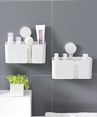 SASA Badezimmer Regal Kunststoff, Badezimmer Toilettenartikel ...
