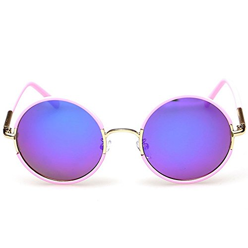 GUGGE Womens Round Fashion Full Frame Sunglasses Driving - Of Light What Polarisation Is