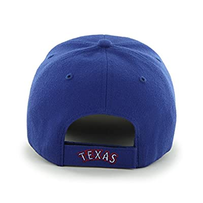MLB Texas Rangers Embroidered Wool Blend Structured Cap
