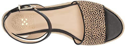 b24eb0e6c55 Vince Camuto Women s Kathalia Espadrille Wedge Sandal Natural 5 Medium US