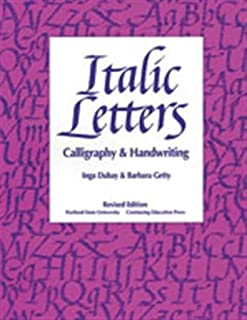 Italic Letters: Calligraphy and Handwriting (0876780915) | Amazon price tracker / tracking, Amazon price history charts, Amazon price watches, Amazon price drop alerts