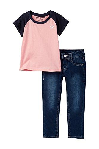 Tee & Jean Set, 2T, Desert Pink ()