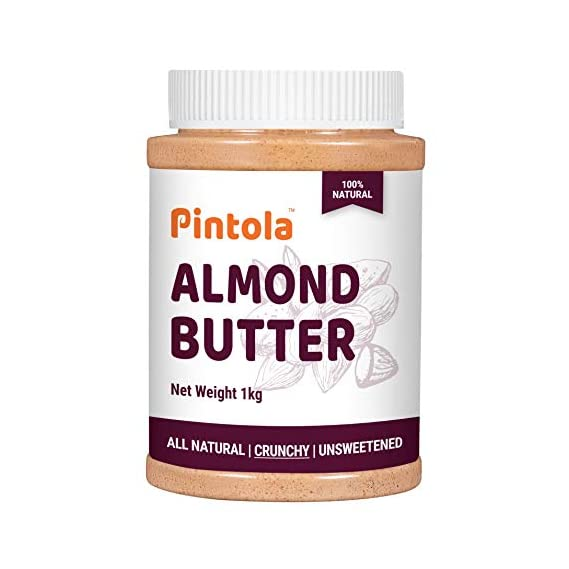 Pintola All Natural Almond Butter (Crunchy) (1kg)
