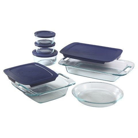 Pyrex Easy Grab 11pc Bake N Store Set