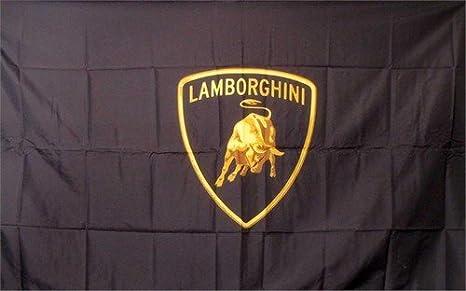 Lamborghini Racing Flag Garage Banner new