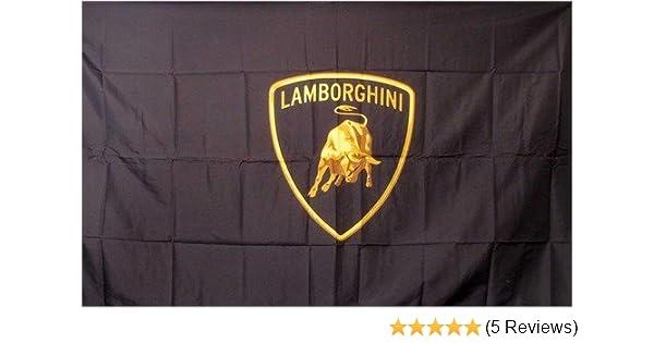 Amazon Com Lamborghini Logo Dealer Banner Flag Sign Office Products