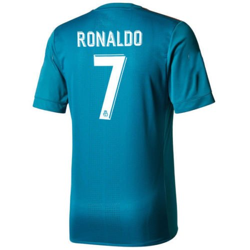 2017/2018 Real Madrid Third Jersey Ronaldo Short Sleeve 7# ()