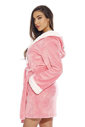 16601873ea Jual Just Love Critter Robe Sherpa Trim Velour Robes for Women ...