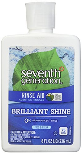 Seventh Generation Rinse Aid Free and Clear -- 8 fl oz, Packaging May Vary ()