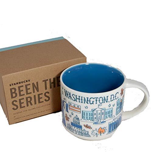 Starbucks Coffee 2018, Been There Series, Washington DC Mug, 14-Ounce with Gift (Starbucks Coffee Gift Box)