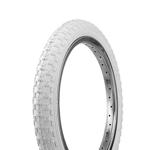"""Fenix Cycles Bicycle Tire Wanda 16"""" x 2.125"""" P-104A Comp3 Thread. Bike tire, Kids Bike tire, (White)"""