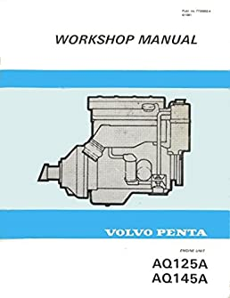 volvo penta workshop manual aq125a aq145a ab volvo penta rh amazon com volvo penta aq125a service manual
