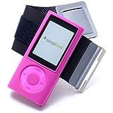 Simplism iPod nano 5th用 スポーツアームバンド ピンク TR-SANN5-PK