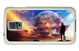 Hipster Samsung Galaxy S5 Cases crazy dream world PC White for Samsung S5