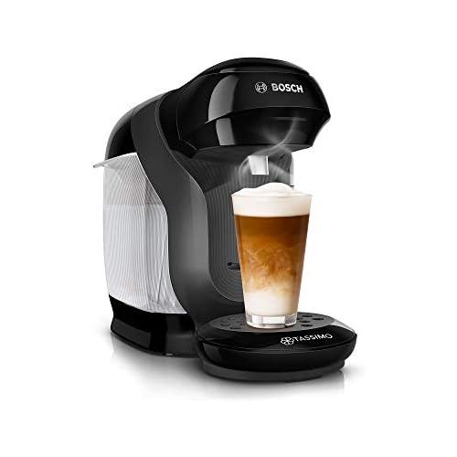 chollos oferta descuentos barato Cafetera de cápsulas Tassimo Style TAS1102 de Bosch más de 70 bebidas totalmente automática apta para todas las tazas ahorra espacio 1400 W color negro