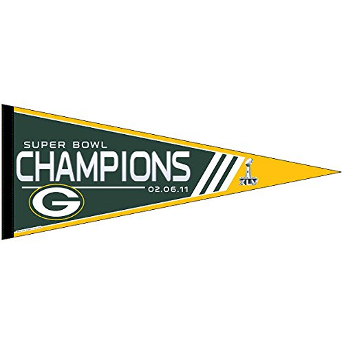 Green Bay Packers Felt Pennant - Green Bay Packers Super Bowl 45 Champions Pennant
