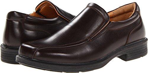 Deer Stags Men's Greenpoint Slip-On Loafer Dark Brown 10 EEE US