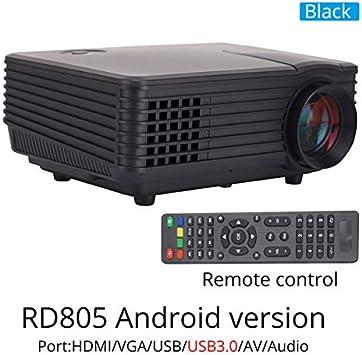 Proyector RD805AW 800 lúmenes Android 4.4 WiFi LED Tableta TV ...