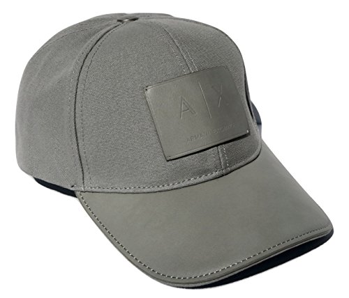 Armani Exchange AIX Logo Patch Trucker Full Back Hat Cap in - Armani Aix