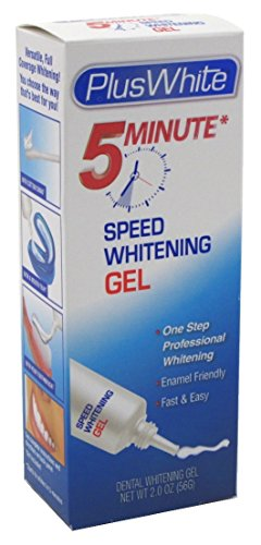 Plus White 5-Minute Premier Speed Whitening Gel 2oz Box (3 Pack)