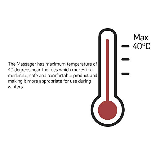 Lifelong LLM99 Foot, Calf and Leg Massager, (With Heat and Vibration), 80W,  4 Motors, Dark Brown: Amazon.in: Health & Personal Care