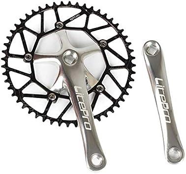 SM SunniMix Plato Bicicleta Montaña, Plato 52/54/56/58T BCD 130 de ...