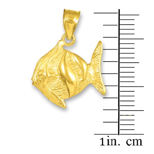 10 ct 471/1000 Or Poisson Clown- Pendentif