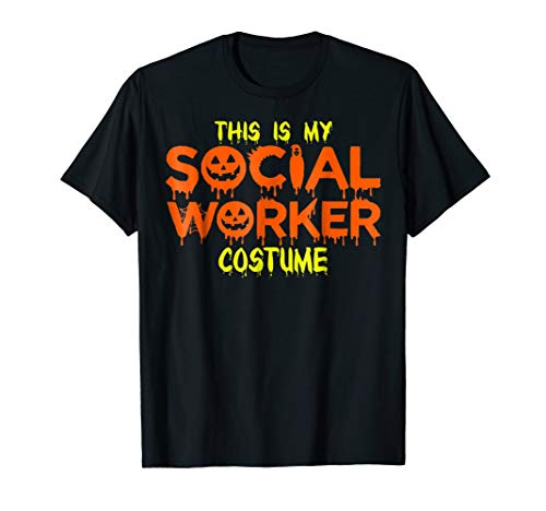 This Is My Social Worker Costume Halloween T