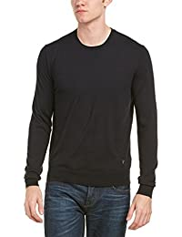 Faconnable Mens Sweater, XXL, Black