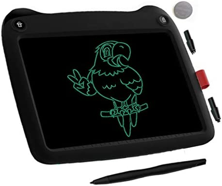 9 inch Writing &Drawing Pad Doodle Board Toys for Kids, VNVDFLM Birthday Gift for 4-5 Years Old Kids LCD Writing Tablet with Stylus Smart Paper for Drawing Writer(Black2)
