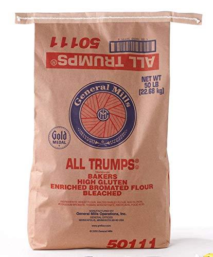 General Mills Gold Medal All Trumps High Gluten Flour, 50 - Mills Flour General