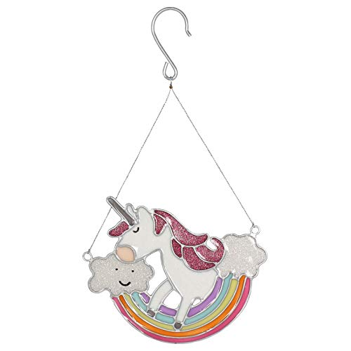 Unicorn Suncatcher - Jones Home & Gift Magical Rainbow Unicorn Sun Catcher