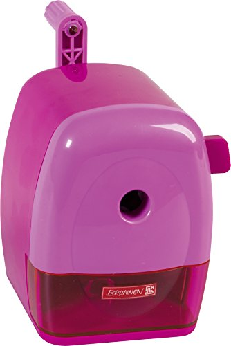 Brunnen 102987226 Crank Pencil Sharpener Colour Code, Thick and Thin, 60 x 110 by Brunnen