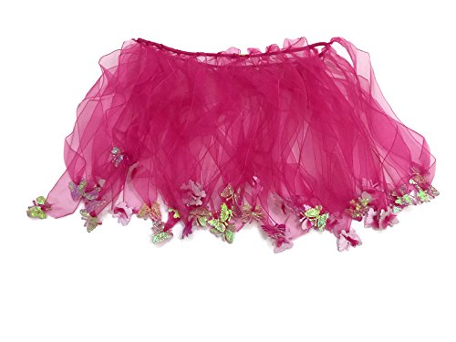 [Rush Dance Ballerina Girls Dress-Up Fairy Butterfly Tinkerbell Costume Tutu (Kids (3-6 Years Old), Hot] (Tinkerbell Fairy Costumes For Women)