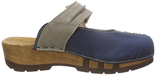 Rebekka Avion Bleu 001 femme Chaussures Woody AFwqSU7