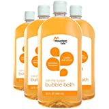 Mountain Falls Bubble Bath, Vanilla Sugar, 32 Fluid Ounce (Pack of 4)