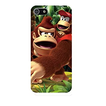 c3064a650e v-00562【 iPhone5 / 5s 】ドンキーコング キャラクター iPhoneケース デザインプリント iPhone