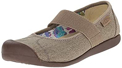 KEEN Women's Sienna MJ Canvas Mary Jane, Brindle, 5 M US