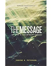 The Message Ministry Edition (Softcover, Green): The Bible in Contemporary Language