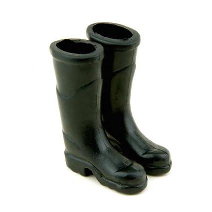 MyTinyWorld Dolls House Miniature Pair of Rubber Wellington Boots