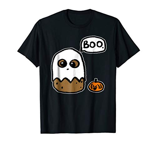 Funny Happy Halloween Potato Boo Costume T-Shirt