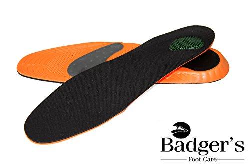 Footcare l'ortesi di plantare consiglia cadutinbsp; rossoRosso Badger Premium supportonbsp; fascite Templates Sport Cuscinonbsp; archnbsp; tallone Il arco ponti podologo NnOXk08wPZ