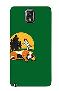 Durable Protector Case Cover With Robot Dog Taking Over Hot Design For Galaxy Note 3 (ideal Gift For Lovers)